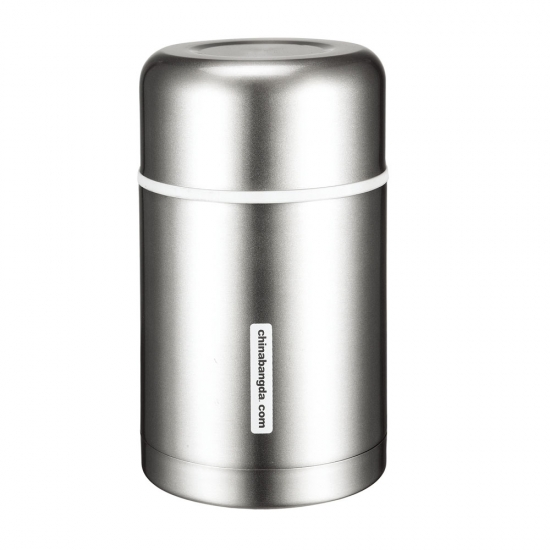 Stainless Steel Vacuum Insulated Food Jar Leak Proof With Strap